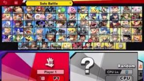 super smash bros characters