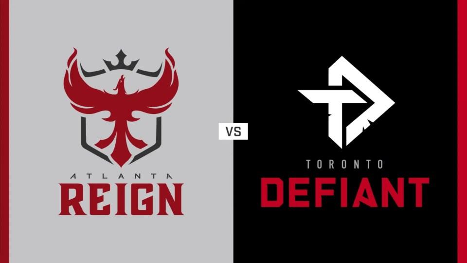 Atlanta Reign vs. Toronto Defiant