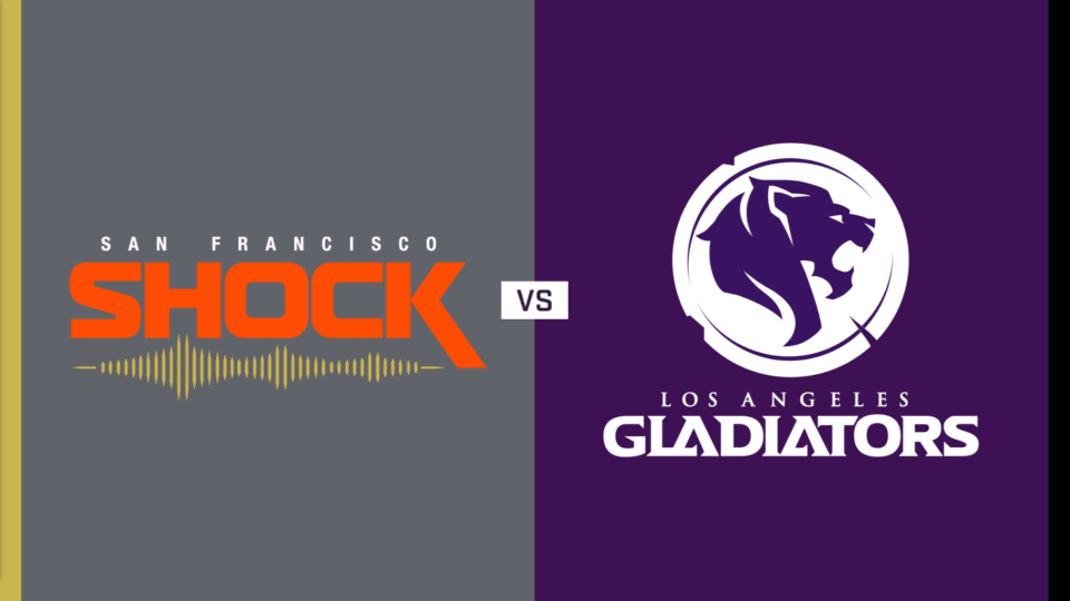 San Francisco Shock vs. Los Angeles Gladiators