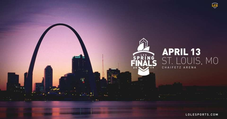St. Louis to Host the 2019 Spring Split Playoffs here in North America