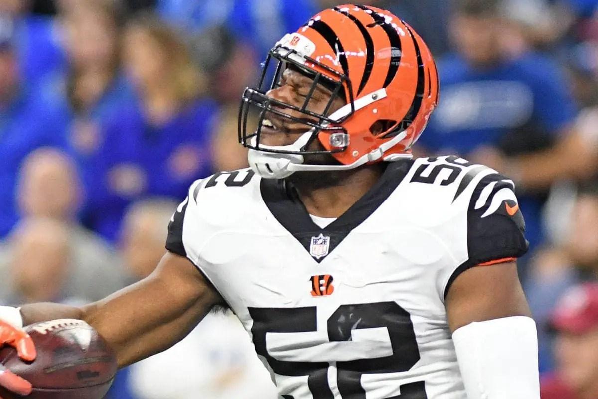Bengals Cut Linebacker Preston Brown