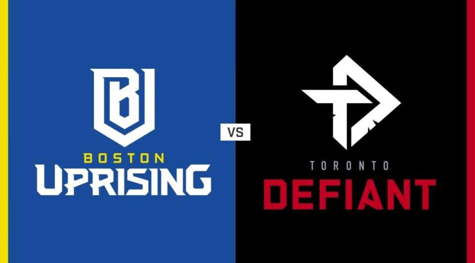 Boston Uprising vs Toronto Defiant