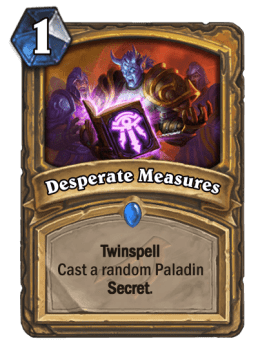 Secret Paladin's Return