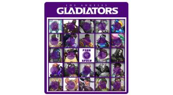 Los Angeles Gladiators vs Chengdu Hunters