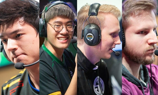 Hauntzer, Wildturtle, Zven and Solo are the Fantastic four for the 2019 LCS Spring Split quarterfinals