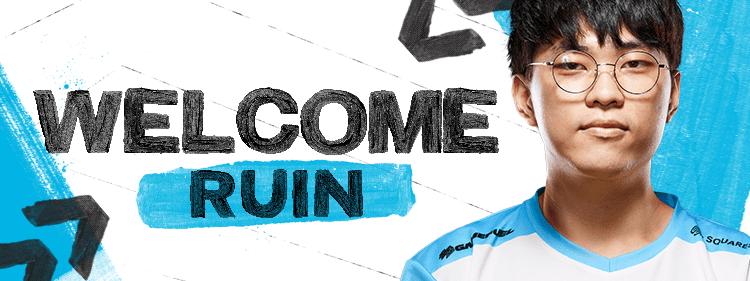 Ruin joins Counter Logic Gaming for Summer Split 2019.