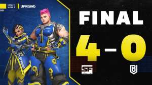 Boston Uprising vs San Francisco Shock