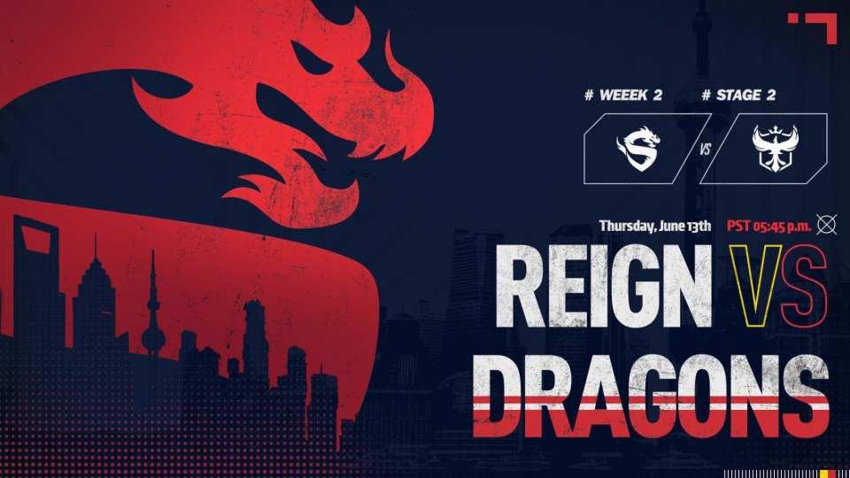 Shanghai Dragons vs Atlanta Reign
