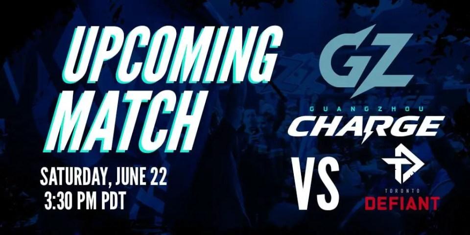 Guangzhou Charge vs Toronto