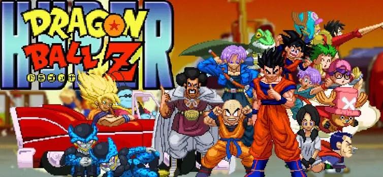 Hyper Dragon Ball Z's poster on the DBZGames Website