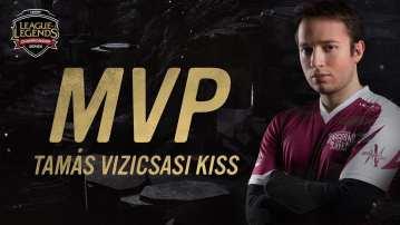 Vizicsacsi won MVP in 2017 Spring Split.