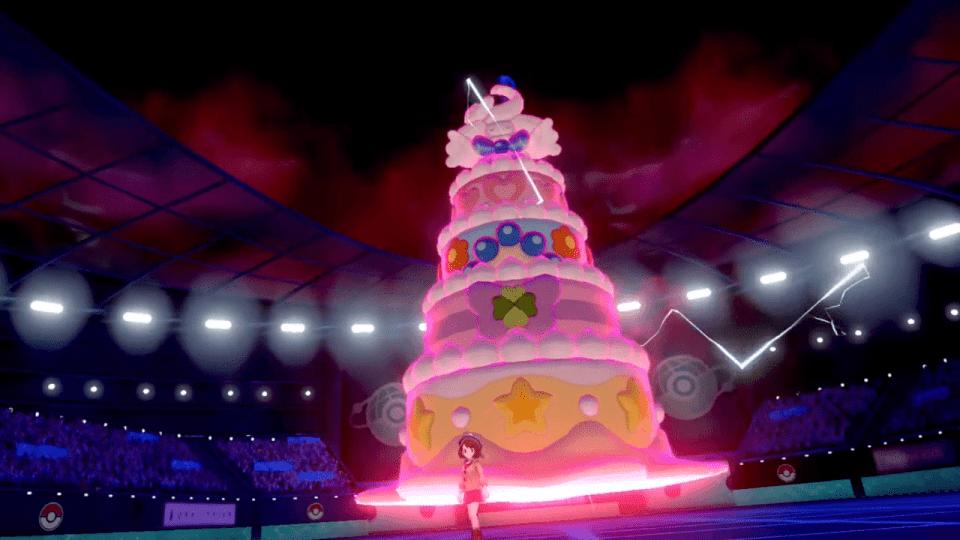 Pokemon Sword and Shield Gigantamax