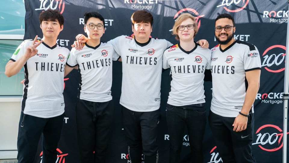 100 Thieves Playoffs