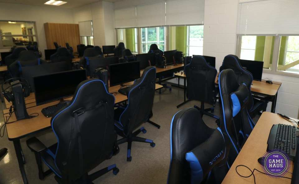 Louisa County High School built an esports lab in preparation for the 2019-2020 season (photo by Love Marketing Agency).