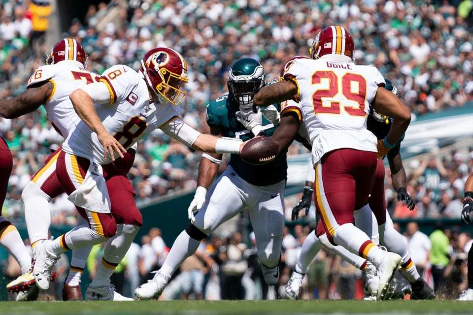 Keenum and Redskins play well, but lose to Eagles in Week 1