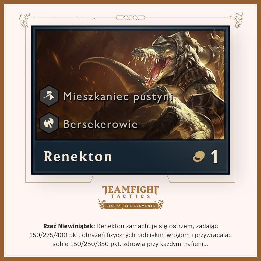 Renekton tft