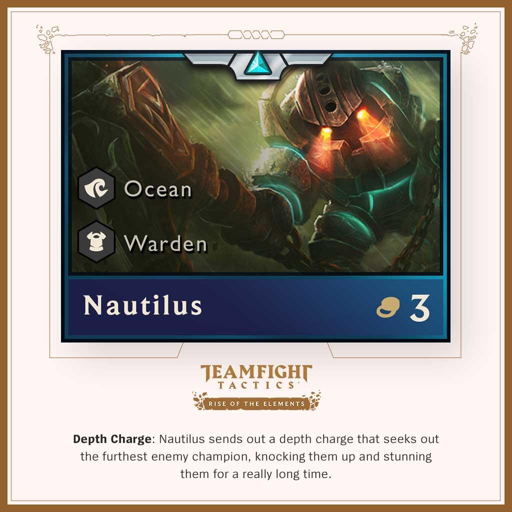 nautilus tft
