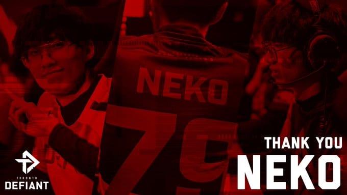 Toronto Defiant Release Neko