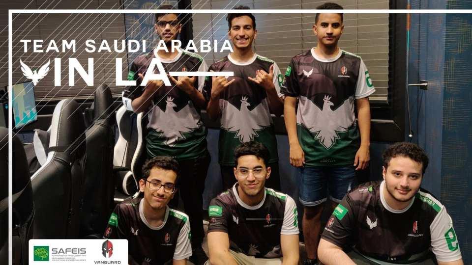 Team Saudi Arabia for the Overwatch World Cup 2019