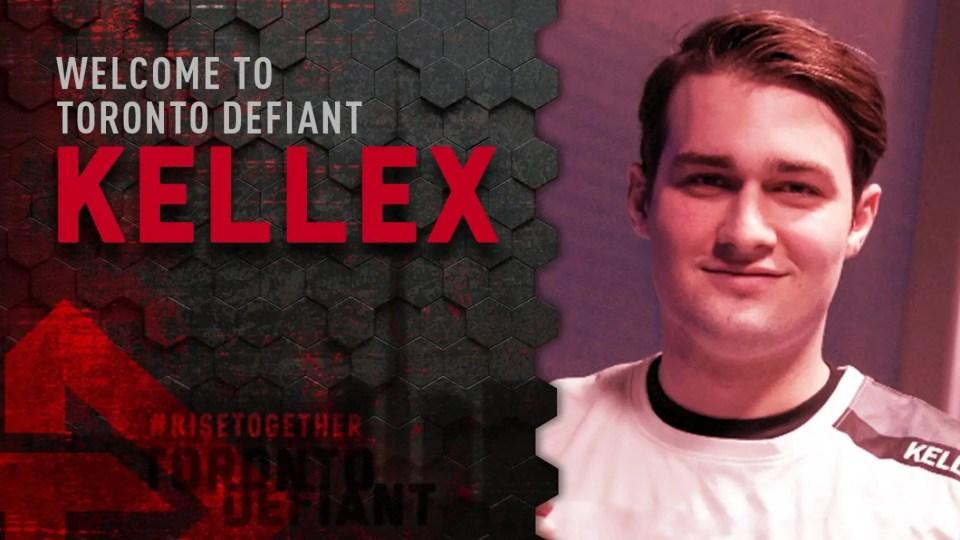 Toronto Defiant Sign Kellex