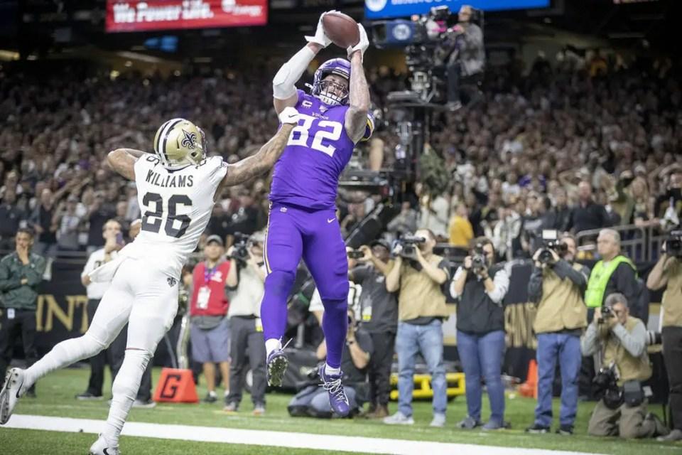 Vikings vs. Saints Recap