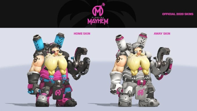 The Florida Mayhem revealing new skins