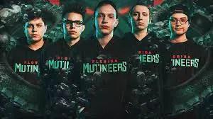 Mutineers Roster