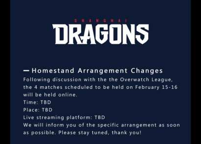 Chinese Homestand Cancelation