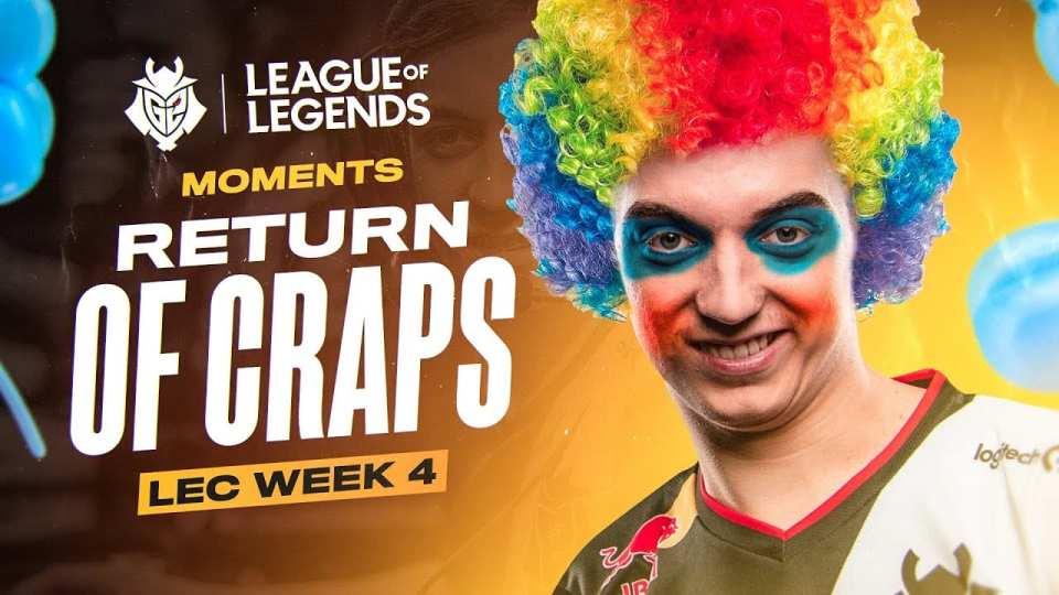 LEC Week 5 Craps or Caps?