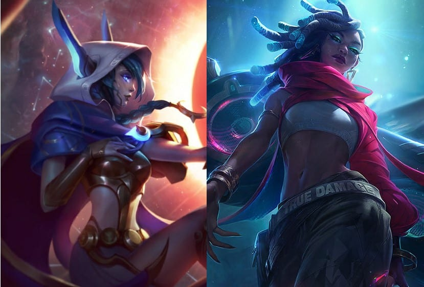 Xayah was less common and more successful than Senna in the first two weeks of LCS.