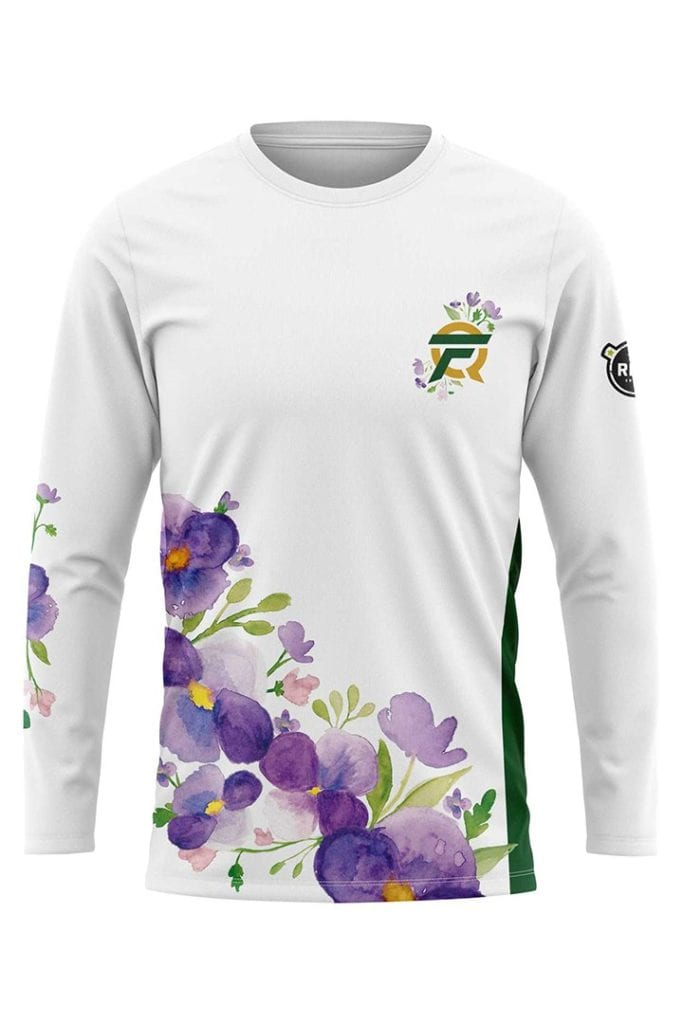 FlyQuest unveiled floral-printed jerseys for LCS Spring Split 2020