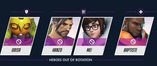 hero bans season 21