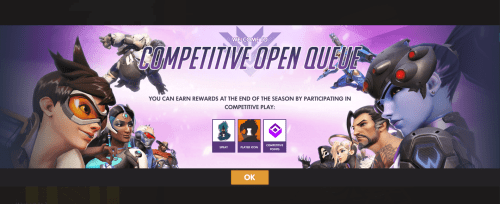New Competitive Overwatch Mode