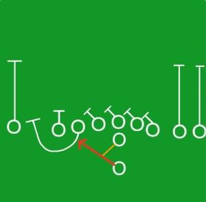 Pat Shurmur run play