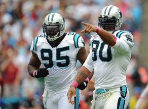 Julius Peppers Charles Johnson