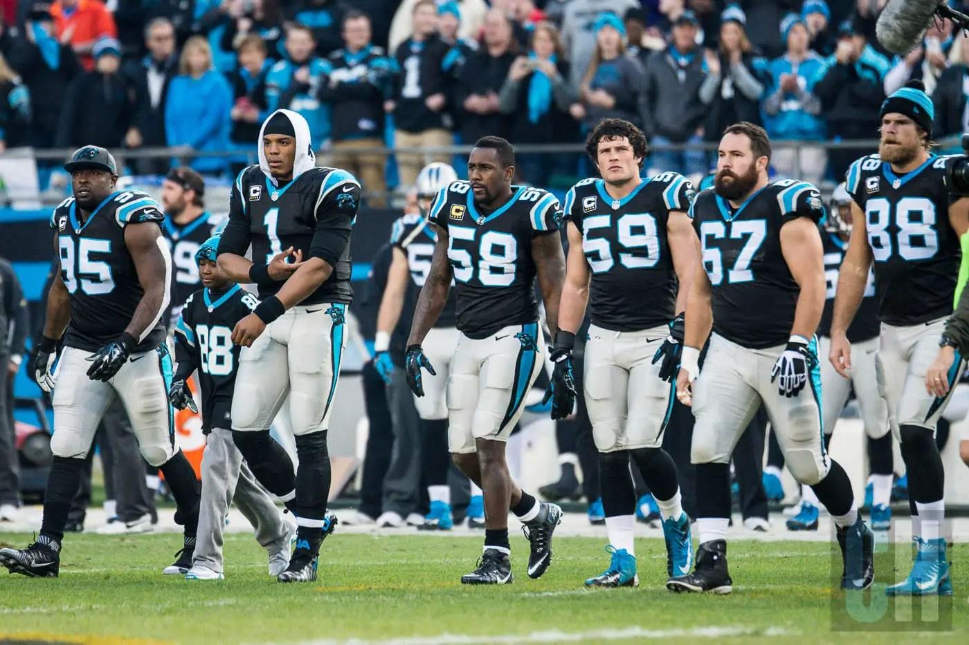 Carolina Panthers All Time Team