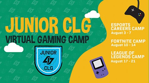 Junior CLG is starting august 3rd.
