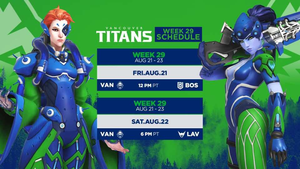 Vancouver Titans Week 29