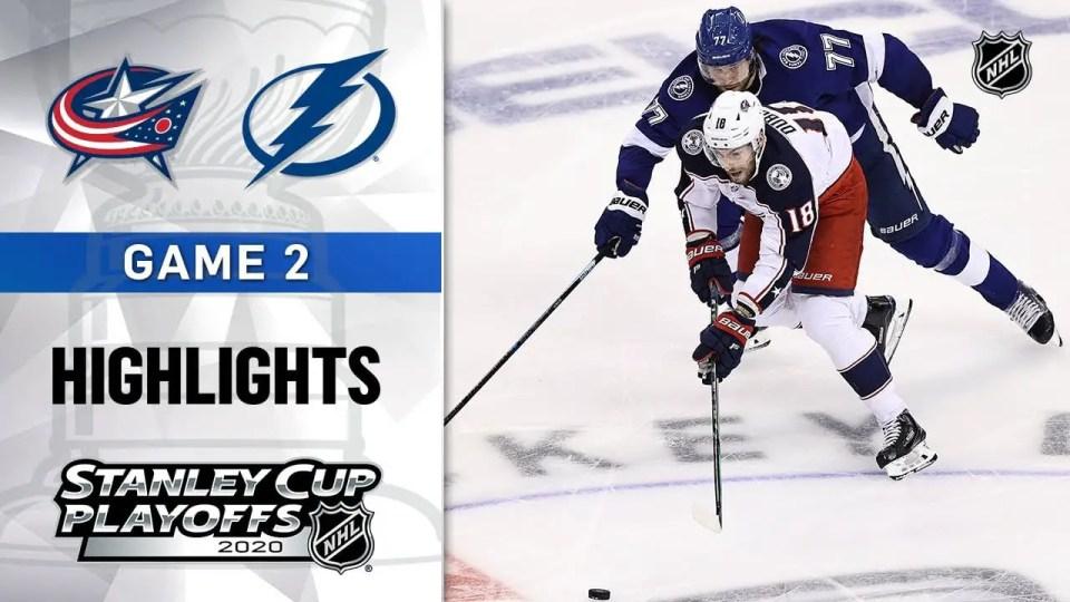Columbus Blue Jackets vs. Tampa Bay Lightning game recap