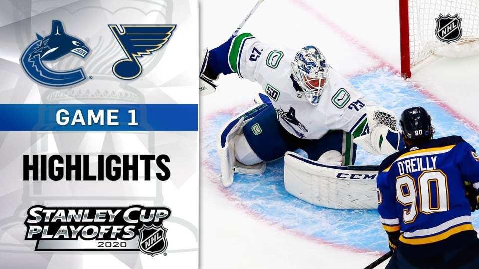 Vancouver Canucks vs. St. Louis Blues game recap