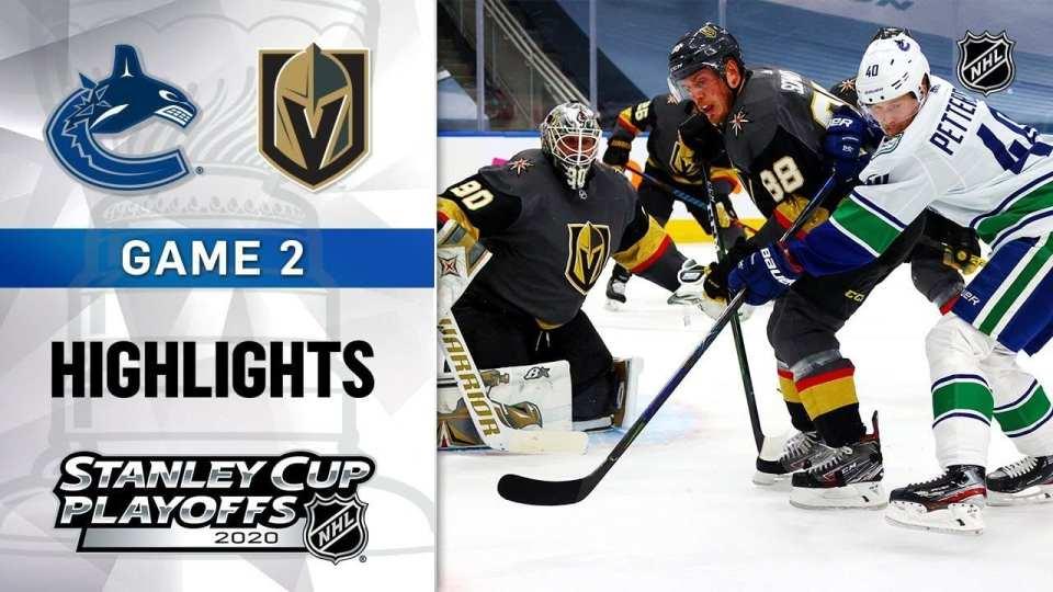 Vancouver Canucks vs. Vegas Golden Knights game recap