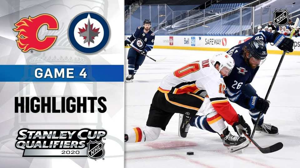 Calgary Flames vs. Winnipeg Jets game recap.