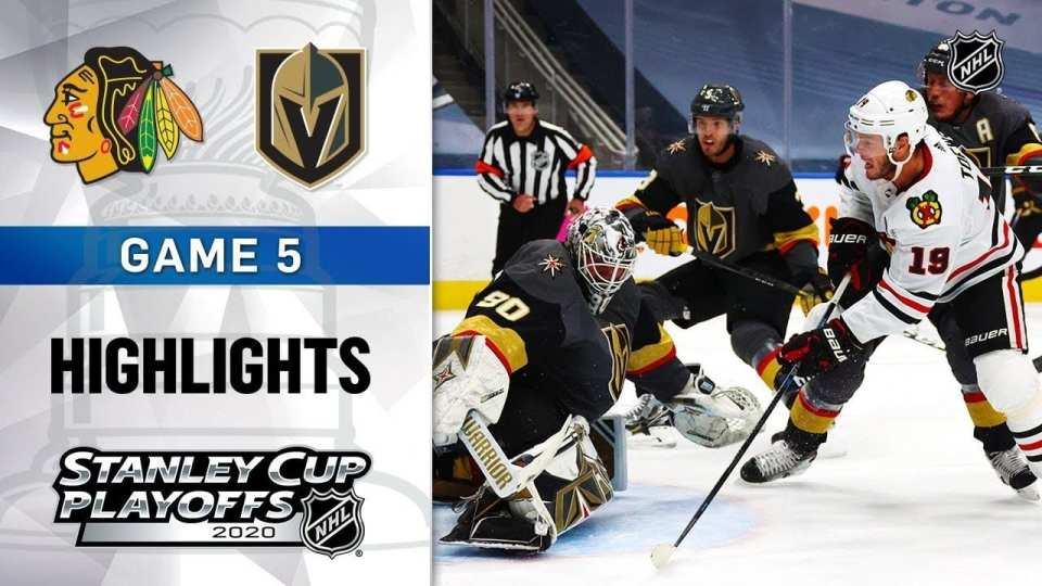 Vegas Golden Knights vs. Chicago Blackhawks game recap