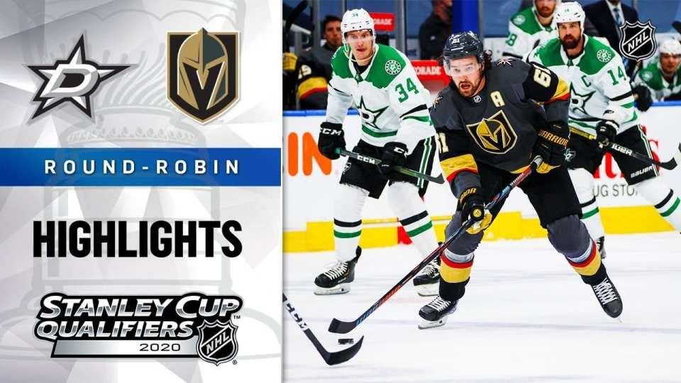 Vegas Golden Knights vs. Dallas Stars game recap.
