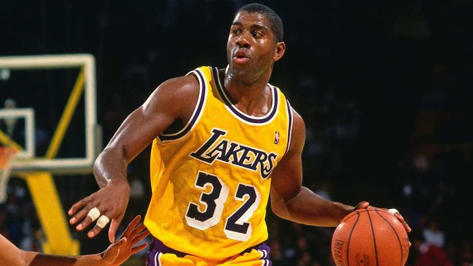 Celebrating Magic Johnson