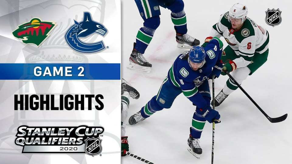 Minnesota Wild vs. Vancouver Canucks game recap.