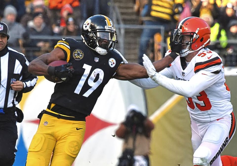 steelers face browns