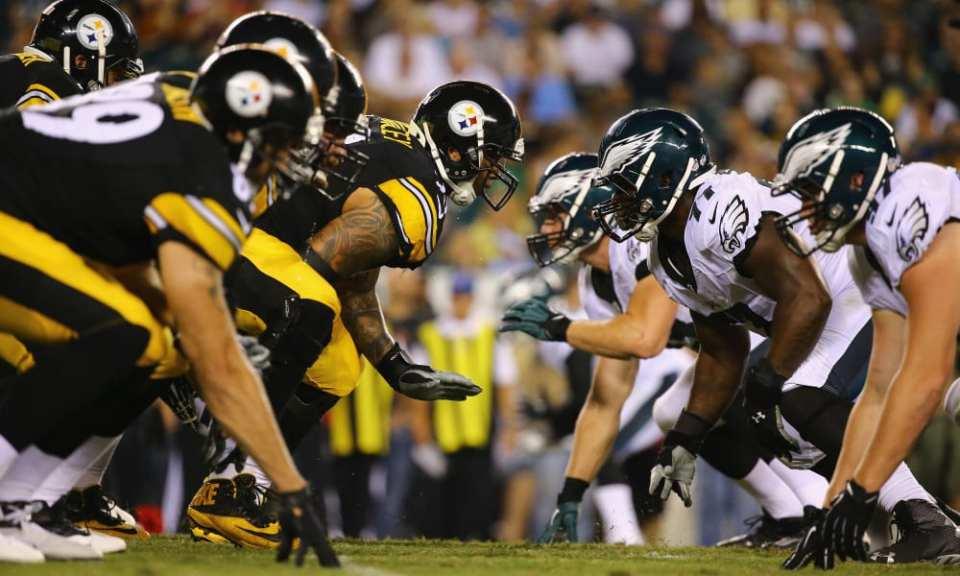 steelers against eagles
