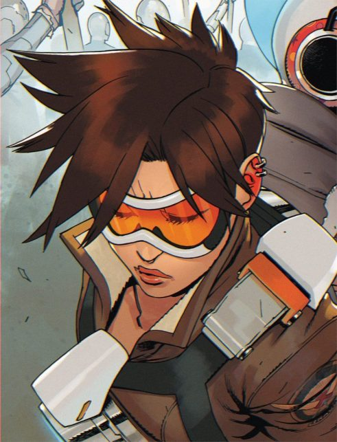 overwatch tracer comic