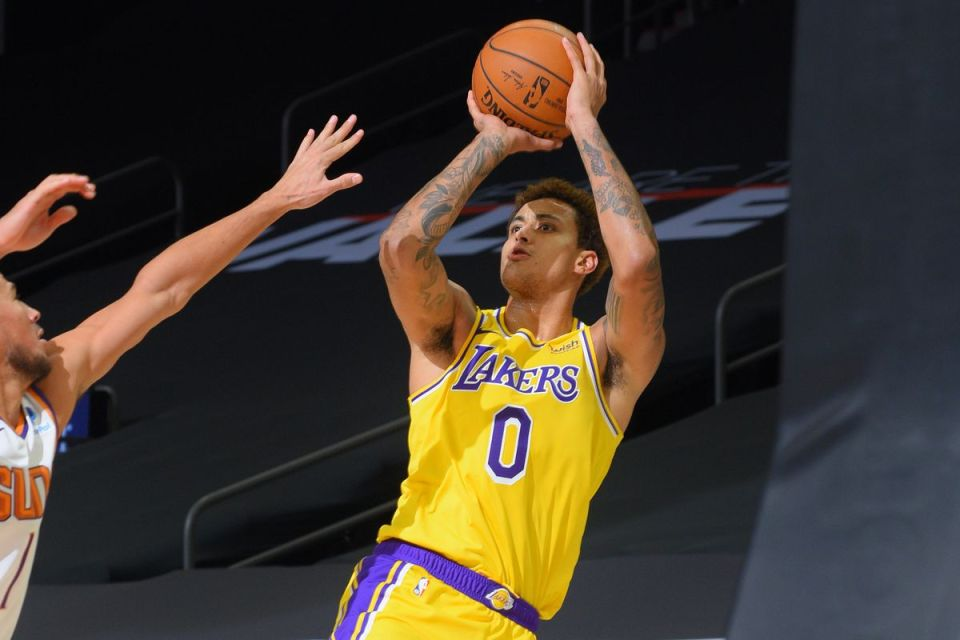 Kyle Kuzma Signs 3-year Extension with the Los Angeles Lakers